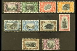 1934 Centenary Complete Set, SG 114/23, Very Fine Mint, Very Fresh. (10 Stamps) For More Images, Please Visit Http://www - Saint Helena Island
