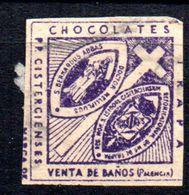 Viñeta De Chocolates Trapa. - España