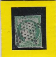 CERES  N° 2b  Vert Foncé   JUILLET 1850 + ETOILE DE PARIS   /   Deuxième Choix  -REF 17150 / Cote 1200€ - 1849-1850 Ceres