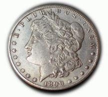 Replica U.S. Morgan Dollar 1899 CC - 1878-1921: Morgan