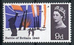 Great Britain 1965 9p Battle Of Britain Issue #436  MNH - 1952-.... (Elizabeth II)