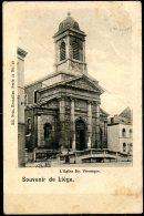 CP   Liège   ---   Eglise Ste Véronique  --  Circulé 189? - Liege