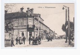 Lida Wilnaer Strasse Ca 1915 Judaica Aisik Winer OLD POSTCARD 2 Scans - Belarus