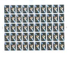 Feuille Complète De 50 Timbres De 3.20frs  Telécom1 - Feuilles Complètes