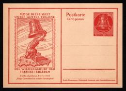 BER  P 29 M 1952 20pf Freedom Bell, Bear Ringing Bell - [5] Berlin