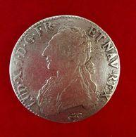ECU LOUIS XVI AUX LAURIERS - 987-1789 Monnaies Royales