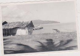 HAITI , Caraibes Photo Rare De Dimension 9cm X 6 Cm Prise En Plein Cyclone - Haïti