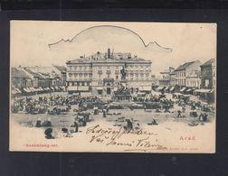 Romania PPC Arad Market 1903 - Romania