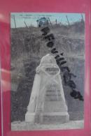 """Cp  Reims """" La Voie Sacree"""" Borne Des A C Du Mexique N 104 Couleur - Monuments Aux Morts"""