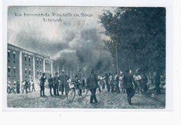 BREST-LITOWSK, Die Brennende Zitadelle, 1916, Deutsche Feldpost OLD POSTCARD 2 Scans - Belarus