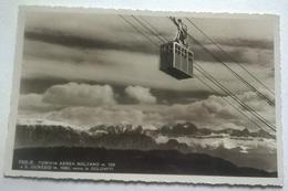 FUNIVIA AREA BOLZANO A S. GENESIO VIAGGIATA 1942 (243) - Bolzano