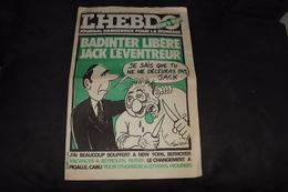 Charlie - Hebdo 1981 Hara-Kiri N°1 - 1950 - Nu