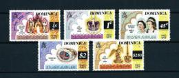 Dominica (Británica)  Nº Yvert  512/16  En Nuevo - Dominica (1978-...)