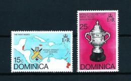Dominica (Británica)  Nº Yvert  485/6  En Nuevo - Dominica (1978-...)