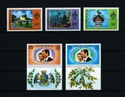 Dominica (Británica)  Nº Yvert  366/7-380/2  En Nuevo - Dominica (1978-...)