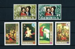 Dominica (Británica)  Nº Yvert  342/5-346/7  En Nuevo - Dominica (1978-...)