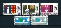 Dominica (Británica)  Nº Yvert  180/1-194/6  En Nuevo - Dominica (1978-...)