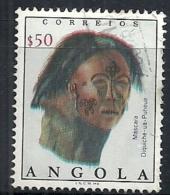 Angola 1976 Mask - Diquiche Mask And Bui Ou Congolo Mask Set Of 2 Canc - Costumes