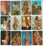 Lot 12 Erotic Calendars 80's - Calendars