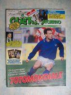GUERIN SPORTIVO=NR.14 DEL 1990=FASCICOLI MONDIALI GERMANIA OVEST+JUGOSLAVIA+... - Sport