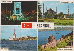 TURQUIE,TURKEY,TURKIYE,CONSTANTINOPLE,CONSTANTINOPOLIS,istanbul,ottomans,KI Z KULESI,BOGAZICI RUMELIHISAR,TAKSIM ABIDESI - Turquie