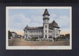 Romania PPC Buzeu Palatul Comunal - Romania