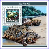 DJIBOUTI 2018 MNH** Turtles Schildkröten Tortues S/S - IMPERFORATED - DH1813 - Schildkröten