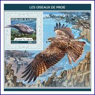 DJIBOUTI 2018 MNH** Birds Of Prey Greifvögel Raubvögel Oiseaux De Proie S/S - IMPERFORATED - DH1813 - Adler & Greifvögel