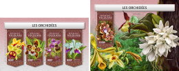 TOGO 2018 MNH** Orchids Orchideen Orchidees M/S+S/S - OFFICIAL ISSUE - DH1813 - Orchideen