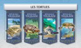 TOGO 2018 MNH** Turtles Schildkröten Tortues M/S - IMPERFORATED - DH1813 - Schildkröten