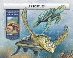 TOGO 2018 MNH** Turtles Schildkröten Tortues S/S - IMPERFORATED - DH1813 - Schildkröten