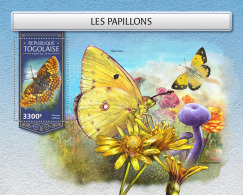 TOGO 2018 MNH** Butterflies Schmetterlinge Papillons S/S - IMPERFORATED - DH1813 - Schmetterlinge