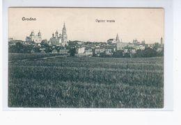 Grodno Ogolny Widok Ca 1920 OLD POSTCARD 2 Scans - Belarus