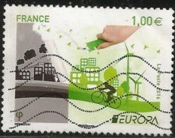 N° 5046 : Europa L'écologie - Oblitéré - Oblitérés