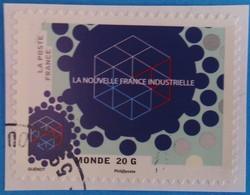 France 2014 : La Nouvelle France Industrielle N° 1069 Oblitéré - Adhésifs (autocollants)