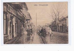 Lida Wilnaerstrasse Ca 1915 OLD POSTCARD 2 Scans - Belarus
