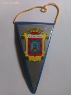Banderín De Ciudad Real. Castilla La Mancha. España. Años '60-'70 - Escudos En Tela