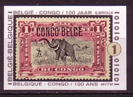 Jaar 2008 - 3848 - België-Congo / Belgique-Congo - Ongetand/non Dentelé/unperforated - Belgique