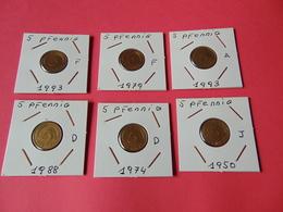 5 Pfennig Alemania Federal - 5 Pfennig