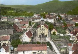 CPSM Dentellée - WEITERSWILLER (67) - Vue Aérienne Du Quartier De L'Eglise En 1965 - Autres Communes