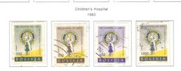 Bolivia PO 1960 Ospedale Bambini   Scott.429/432+See Scans On Scott.Page - Bolivia