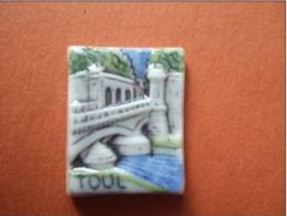 Fève TOUL - Porte De France - E.LECLERC - Région Lorraine - 1993 - Regions