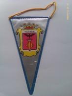 Banderín De Valencia. España. Años '60-'70 - Escudos En Tela