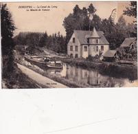 CPA (45) DORDIVES Le Moulin De Nançay Moulin à Eau Watermill Bateau Péniche Canal-Boat Barge - Dordives