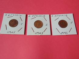 2 Pfennig Alemania Federal - [ 7] 1949-… : RFA - Rep. Fed. Alemana