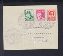 Bulgaria Cover Special Cancelation 1938 - 1909-45 Königreich