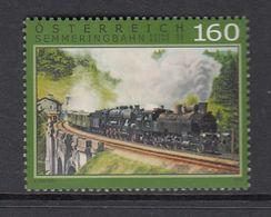 AUSTRIA 2015 - LOCOMOTORA ANTIGUA - SEMMERINGBAHN - 1 SELLO - Eisenbahnen