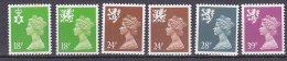 PGL BA0800 - GRANDE BRETAGNE Yv N°1580a/88a ** REGIONAUX DENT.14 - 1952-.... (Elisabetta II)