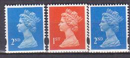 PGL BA0828 - GRANDE BRETAGNE Yv N°1671/73 ** MACHINS - 1952-.... (Elizabeth II)