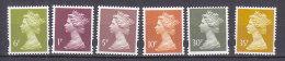PGL BA0884 - GRANDE BRETAGNE Yv N°1678+1683/85+1690/91 ** MACHINS - 1952-.... (Elizabeth II)
